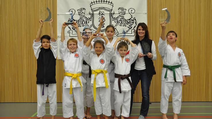 Finalteilnehmer Karateclub Ishin Gipf-Oberfrick