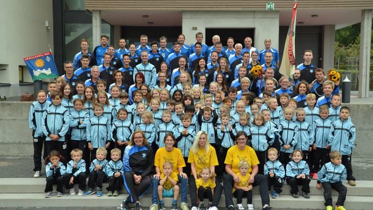 Turnverein Arboldswil im Herbst 2018