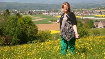 Seit sie im Alter von 12 Jahren nach Möhlin kam, fühlt sich SVP-Nationalratskandidatin Désirée Stutz hier zu Hause.