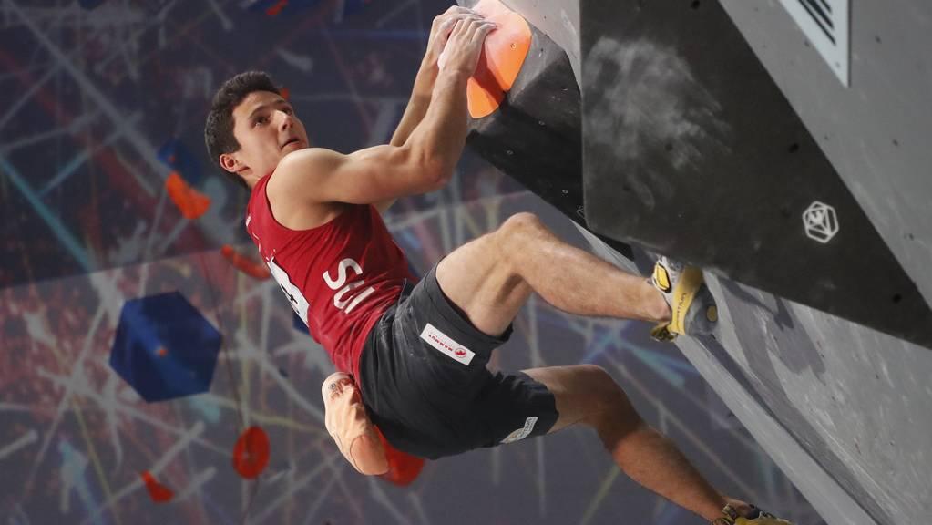 Sascha Lehmann gewann an der EM in Moskau nach dem Titel im Lead auch noch Silber in der Kombination