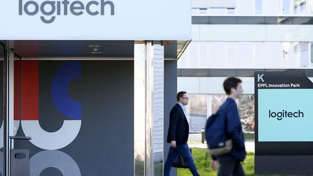 Logitech erzielt mehr Umsatz und Gewinn im zweiten Quartal