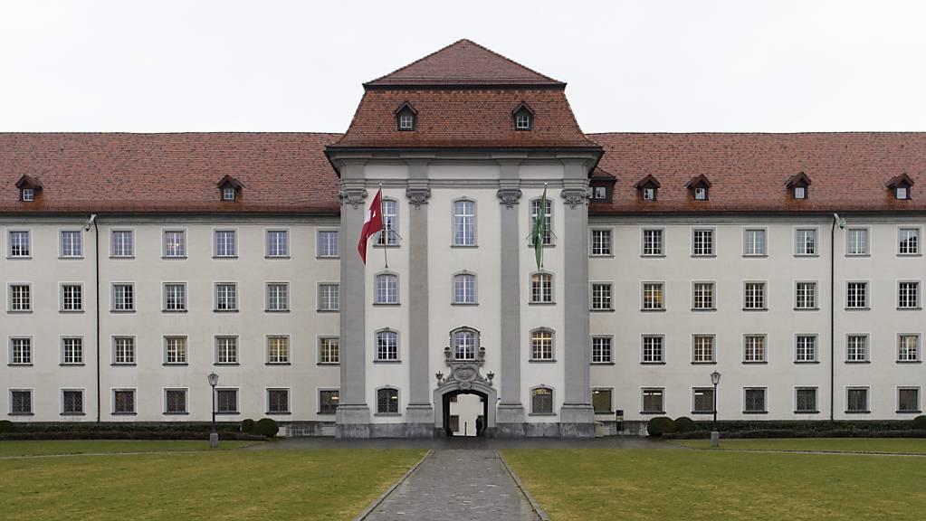 Das St.Galler Regierungsgebäude ist heute einer von drei Standorten des Staatsarchivs. Nun ist eine neue Lösung geplant. (Archivbild)