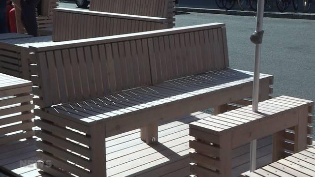 """Stadt Bern testet erste """"Parklets"""""""