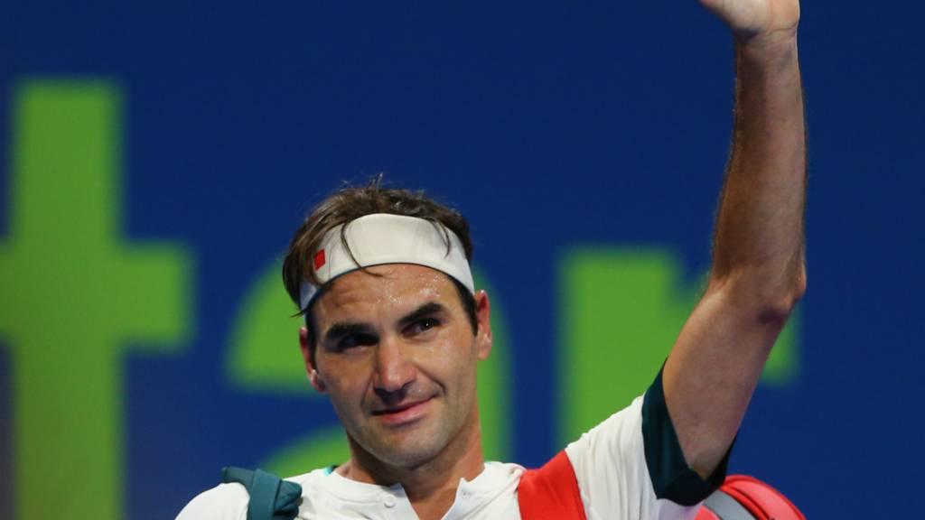 Roger Federer gastiert Mitte Mai in der Schweiz