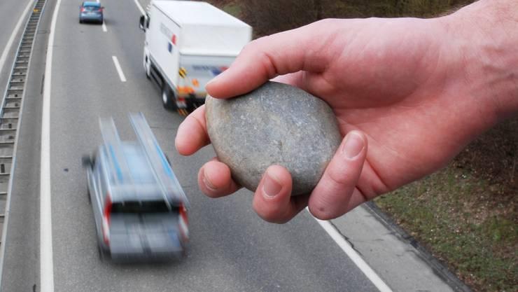 Steinewerfer gefährdeten Leben