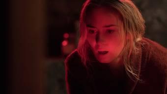 """Emily Blunt in einer Szene von """"A Quiet Place"""". Der Horrorfilm von John Krasinski eroberte am Wochenende vom 19. bis 22. April 2018 den ersten Platz bei den US-Kinocharts zurück. (Archiv)"""