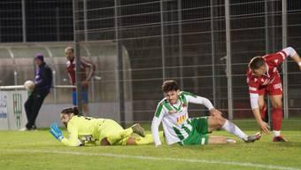 FCD-Hüter Alpay Inaner war beim 3:1-Sieg über den FC Red Star ein sicherer Rückhalt.