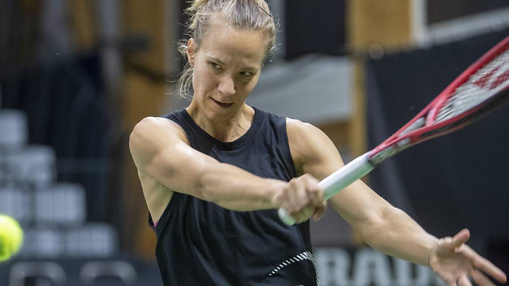 Viktorija Golubic tankt in Saint-Malo weiter Selbstvertrauen. (Archivbild)