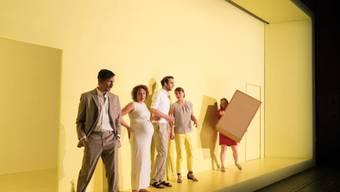"""Das Theater Basel ist mit Ewald Palmetshofers Version von Gerhart Hauptmanns """"Vor Sonnenaufgang"""" zu den Mülheimer Theatertagen eingeladen. (zVg)"""