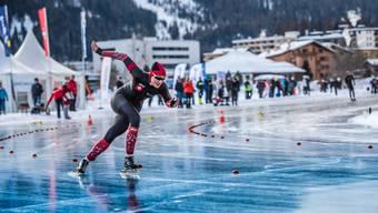 Die Eisschnellläuferin Ramona Härdi trainiert wieder mit dem Schweizer Nationalteam.