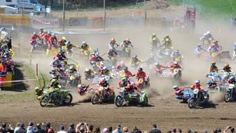 Motocross in Wohlen
