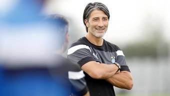 Murat Yakin und sein «Mona-Lisa-Lächeln»: Der Trainer weiss, wie er Menschen für sich einnehmen kann.