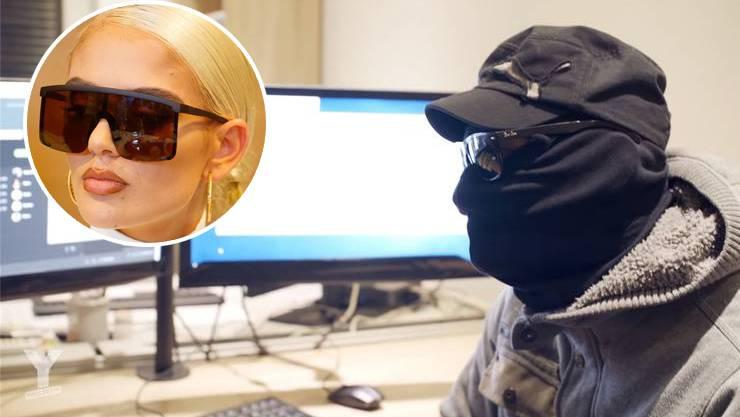 Der anonyme Hacker zeigt, wie sich leicht Zahlen manipulieren lassen. Unter Verdacht steht auch die Luzerner Rapperin Loredana (l.).