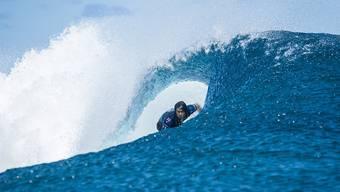 Die Surf-Wettbewerbe an den Olympischen Spielen 2024 werden in Tahiti ausgetragen