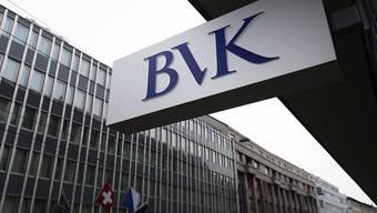 Die Vorsorgeeinrichtung der Angestellten des Kantons Zürich BVK und andere Pensionskassen spüren derzeit den Gegenwind an den Börsen: Die Schweizer Kassen haben im Januar Kapital vernichtet (Archiv).