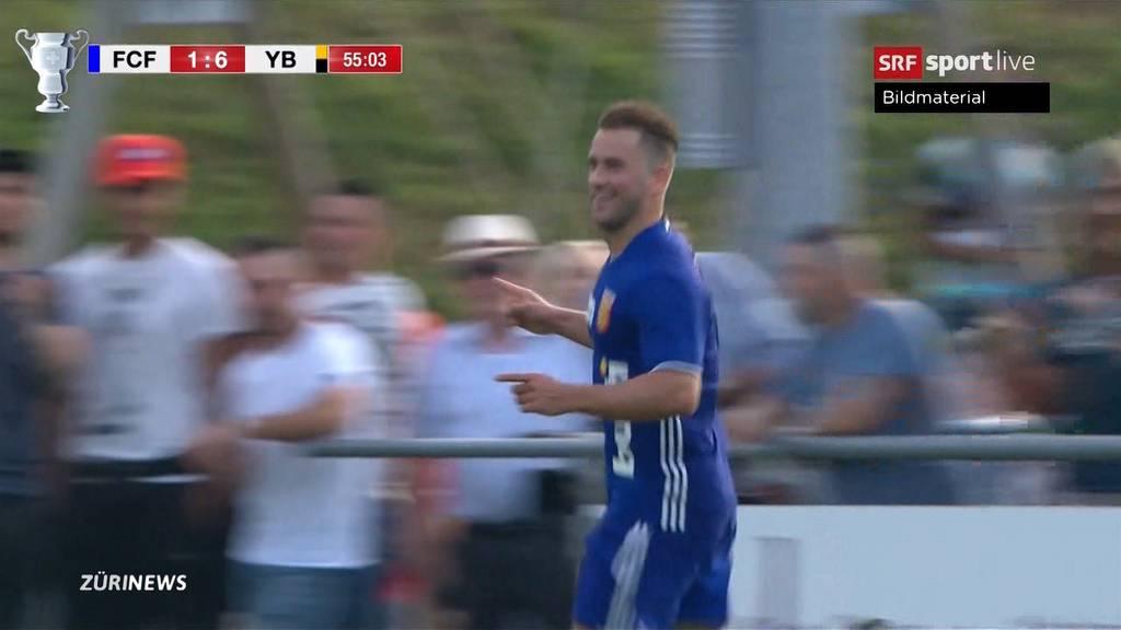 David gegen Goliath: FC Freienbach gegen YB chancenlos