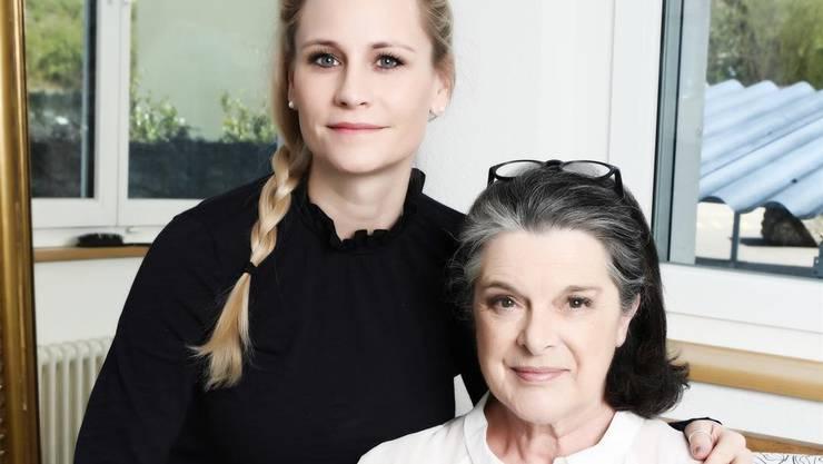 Tanzen neu zusammen: Sarah Heldner von der «Tanz-Fabrik» und Ruth Häusermann. ZVG