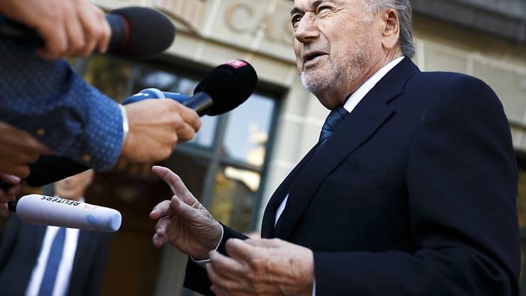 Scharfe Kritik an den grossen Sportverbänden FIFA und IOC: Sepp Blatter