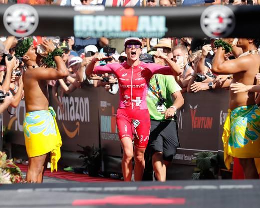 Daniela Ryf strebt im Herbst ihren fünften Sieg beim Ironman Hawaii an.