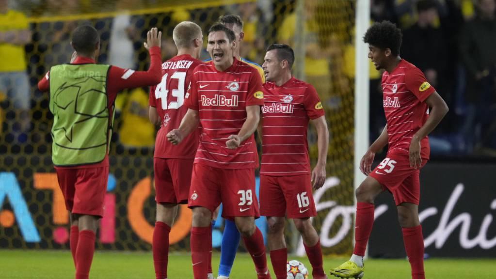 Salzburg jubelt über die Qualifikation für die Gruppenphase der Champions League.