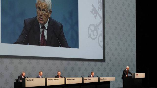 Generalversammlung wie die der UBS locken viele Aktionäre an.