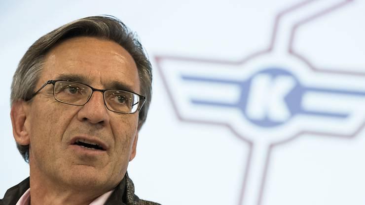 Hans-Ulrich Lehmann will bei Kloten die Ausgaben weiter senken