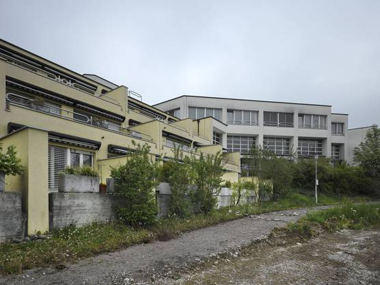 Alterszentrum Weihermatt, Südwestfassade vor dem Umbau