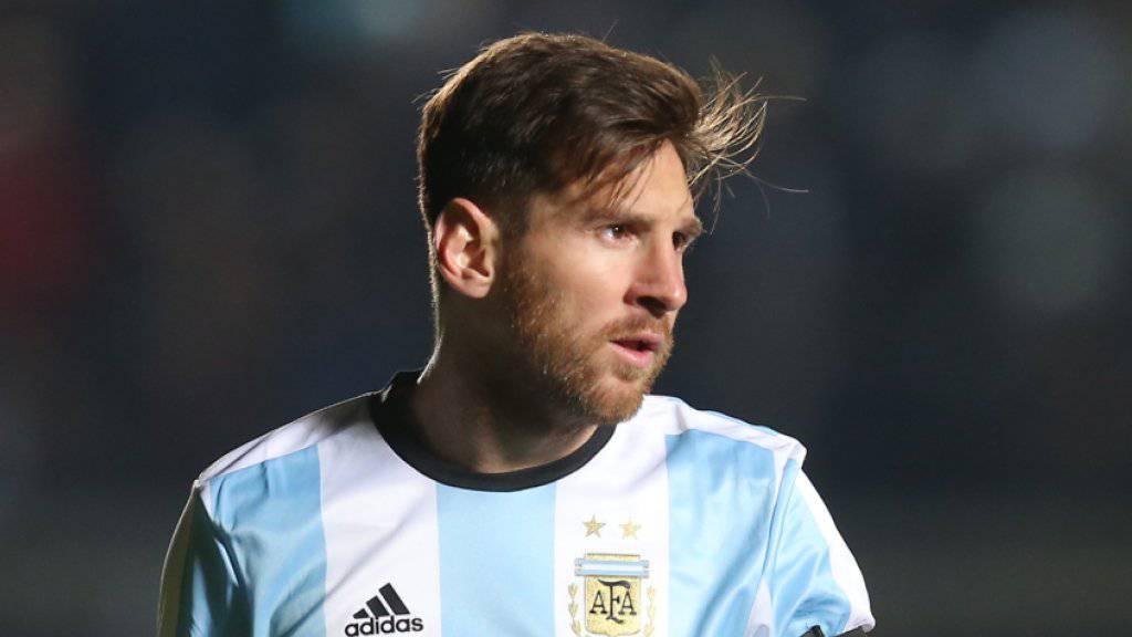 Argentiniens Captain Lionel Messi beteuerte am Donnerstag vor einem Gericht in Barcelona seine Unschuld