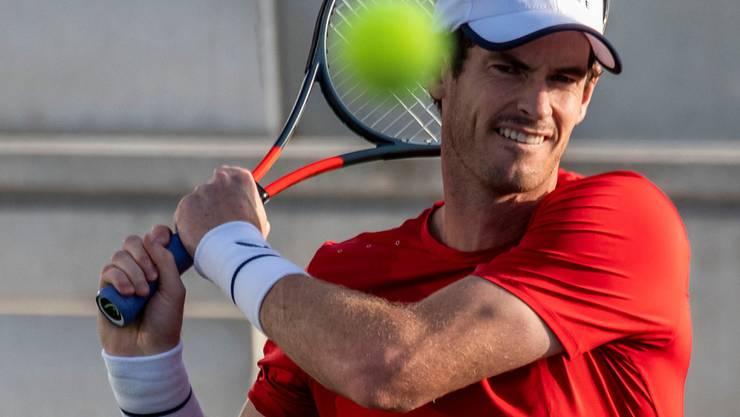 Andy Murray ist im Oktober mittels Wildcard am Masters-1000-Turnier in Schanghai dabei