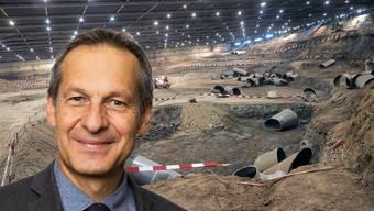Grossrat Martin Brügger (SP): «Es ist sehr wichtig, dass wir Deponien- und Grubenprojekte hinterfragen»