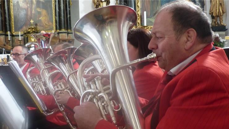 Die Musikgesellschaft Hornussen präsentierte an ihrem Kirchenkonzert eine abwechslungsreiche Stückwahl.