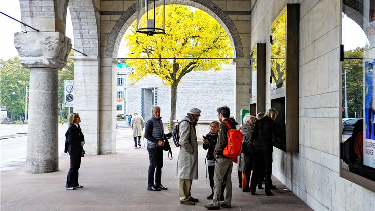 Unter dem Asphalt beim Kunstmuseum soll es zu liegen kommen: Das Parking «Kunstmuseum.
