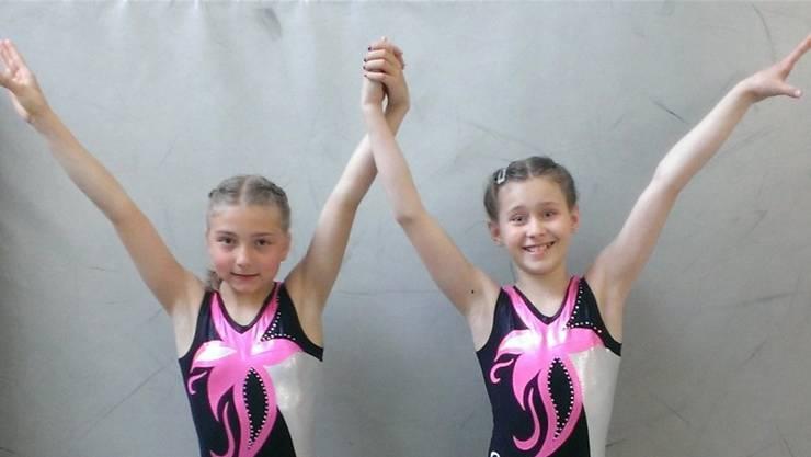 Seraina Lutz und Sarah Fehrenbacher waren die besten Limmattaler Turnerinnen.