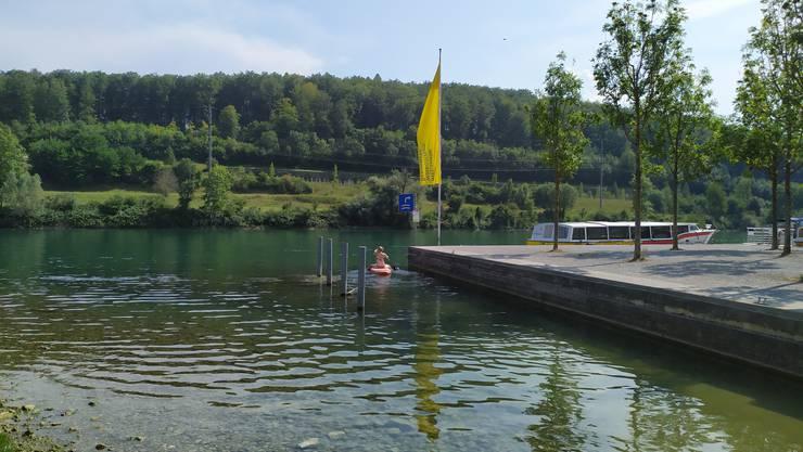 Durch einen neuen Bootssteg neben der Slipanlage will man die Sicherheit im Bootshafen wiederherstellen.