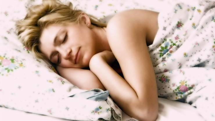 So schön kann schlafen sein. Aber die erste Nacht in der Fremde ist oft der Horror