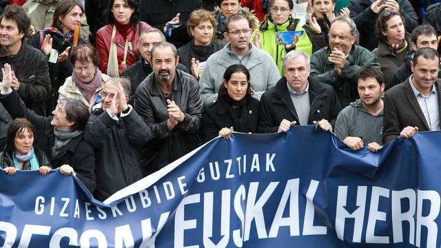 Inhaftierte Basken sollen verlegt werden, ist eine der Forderungen in Bayonne