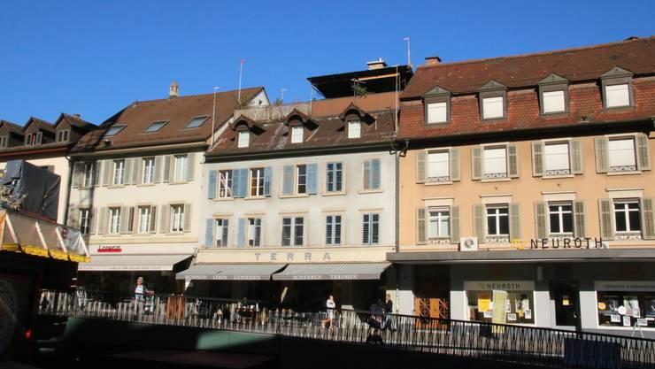 Bahnhofstrasse 6: Das «Terra»-Haus soll neu gebaut werden.
