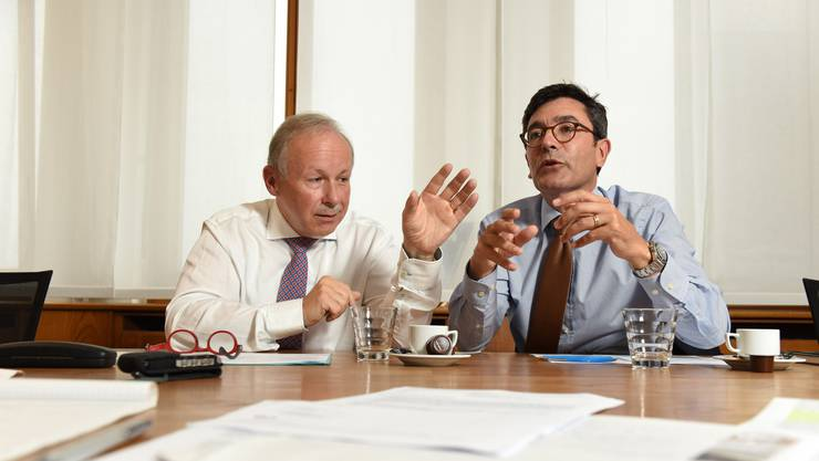 Hans-Peter Hadorn und Carlos Gingado.