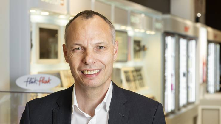 Roger Amann, Manor-Direktor Baden