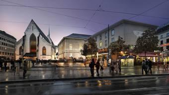 Visualisierung des Stadtcasinos