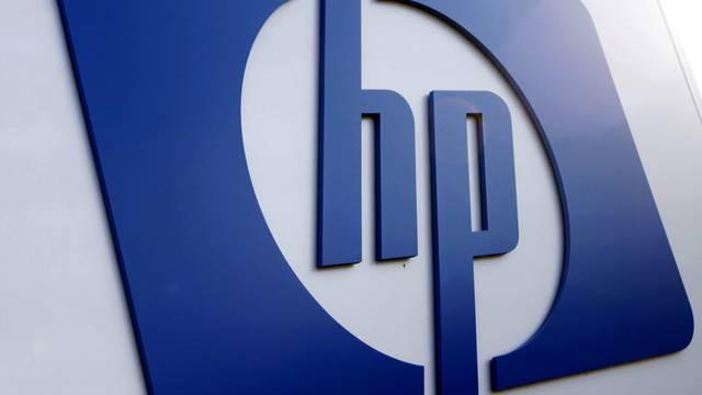 Das Firmenlogo von Hewlett-Packard