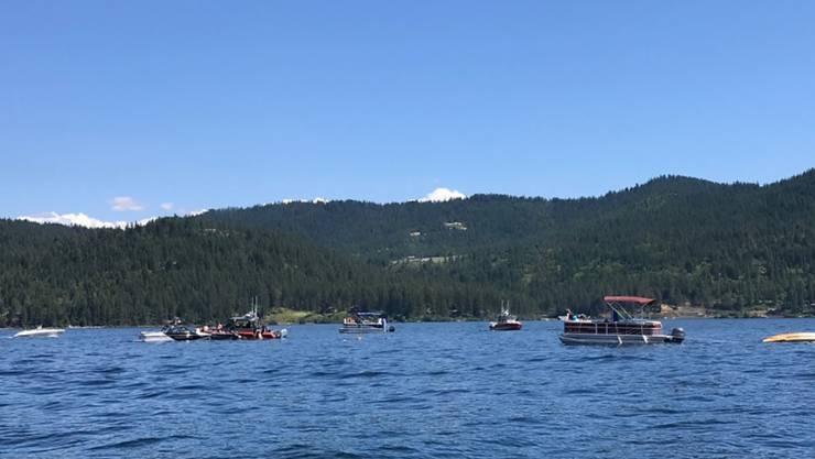 Über dem See Coeur d'Alene im US-Bundesstaat Idaho sind zwei Kleinflugzeuge zusammengestossen. Dabei kamen vermutlich acht Personen ums Leben. (Archivbild)