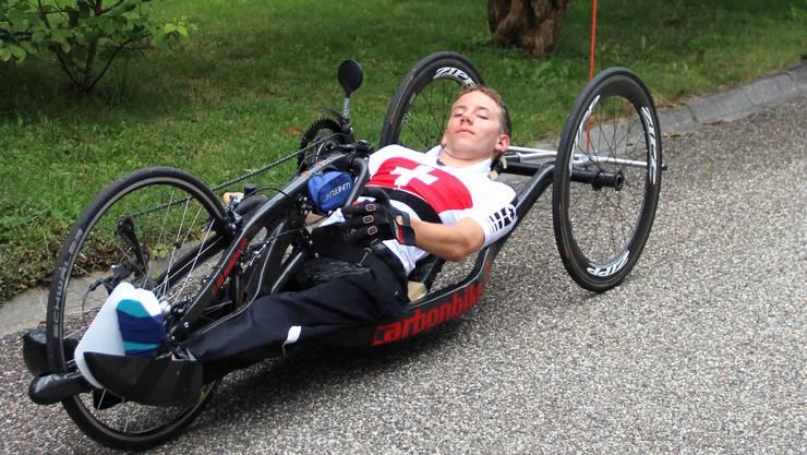 Tobias Fankhauser feierte in Yverdon seinen ersten Weltcupsieg.