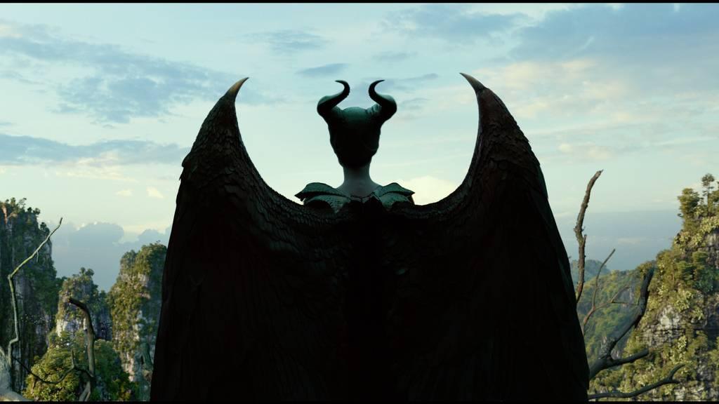 "Böse Angelina Jolie in ""Maleficent 2"""