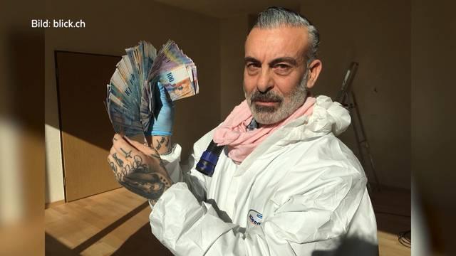 """Tatortreiniger Francesco Brighina: """"Geld ist für mich nichts wert."""""""