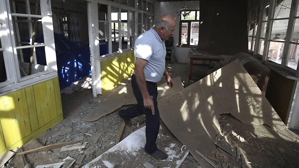 Neue Kämpfe im Konflikt um Berg-Karabach