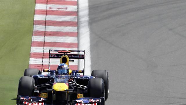 WM-Leader Sebastian Vettel war im Qualifying eine Klasse für sich