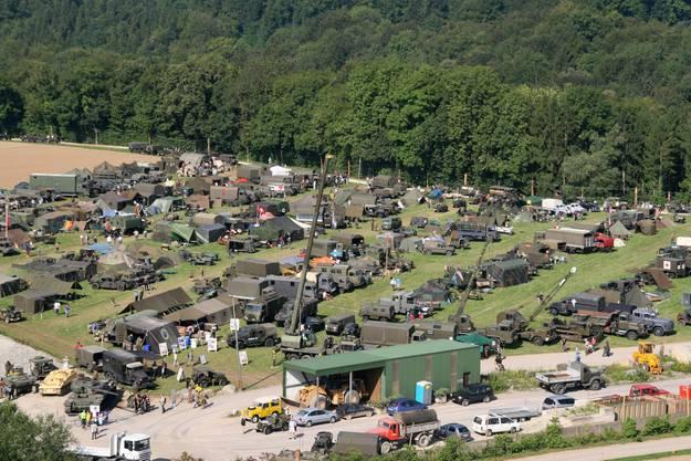 Blick auf das Camp des Convoy 2010