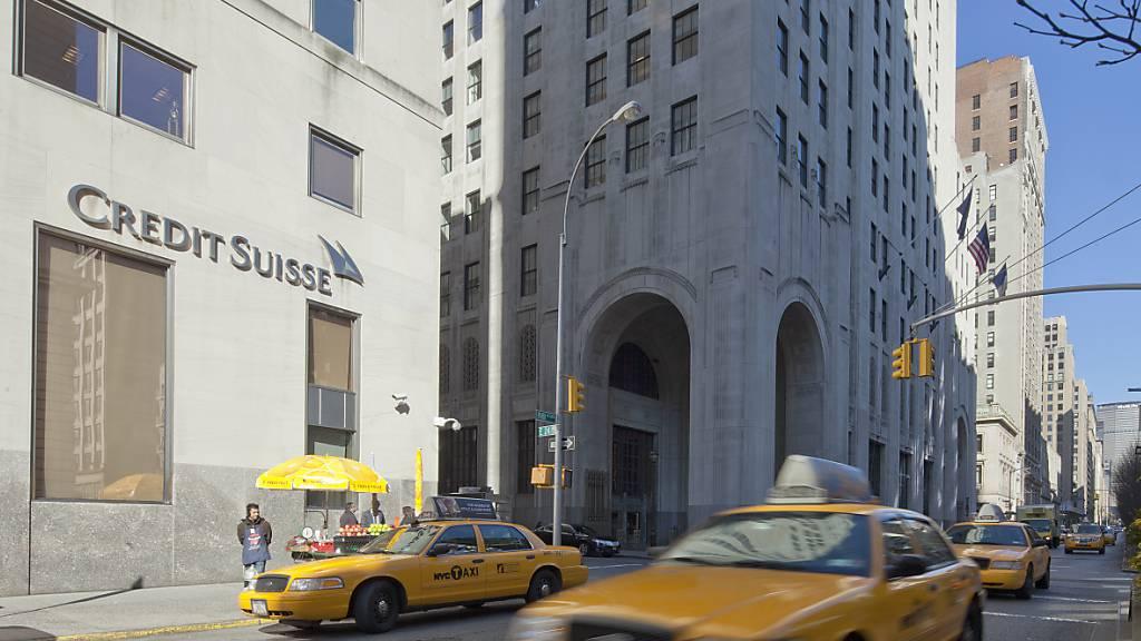Wer nicht gegen Corona geimpft ist, darf nicht mehr rein: Bürogebäude der Credit Suisse in New York. (Archivbild)