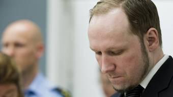 Der Attentäter Anders Behring Breivik vor Gericht (Archiv)